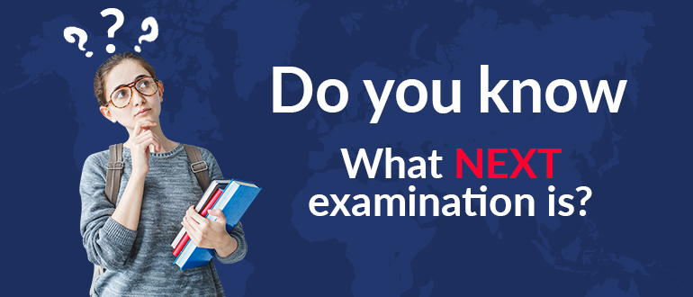 Do you know what NEXT examination is?