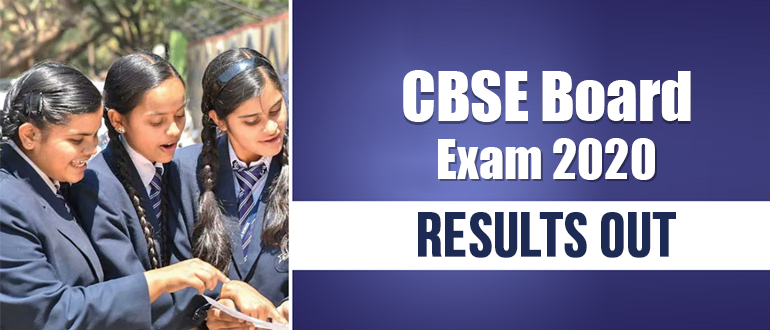 CBSE 2020: results out