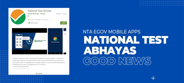 The National Test Abhyas: Good News