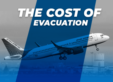 cost of evacuation