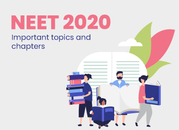 NEET 2020: Important topics and chaptersNEET 2020: Important topics and chapters