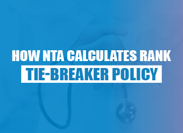 How NTA calculates rank & tie-breaker policy