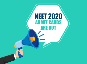 released NEET 2020 Admit Card