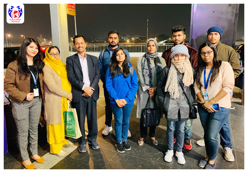 Students' departure to Bangladesh medical universi