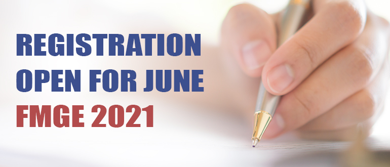 Important Dates for June FMGE 2021.