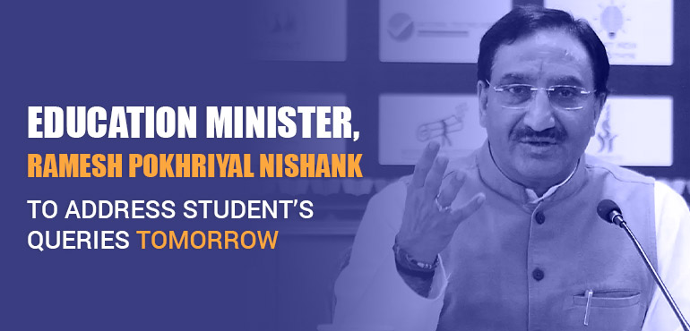 Education Minister to address the student's queries