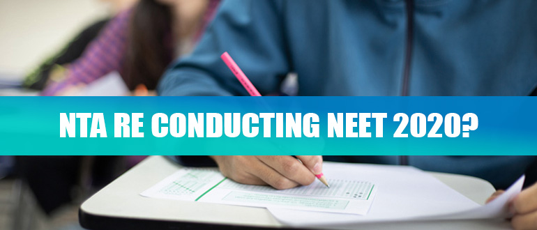 NTA re conducting NEET 2020