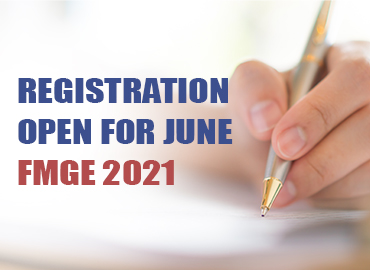 Registration Open for June FMGE 2021
