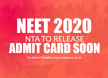 Admit Card to be released soon