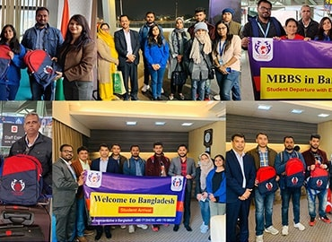 Indian Students Embark on MBBS in Bangladesh Journey